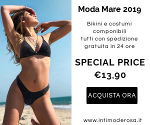 Intimoderosa.it - bikini, costumi componibili, moda mare 2019, intimo
